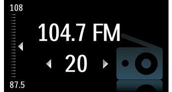رادیو ساعت تک موج و پروجکشن دار فیلیپس مدل philips aj3700