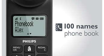 گوشی بی سیم و دو گوشی فیلیپس مدل m5552wr